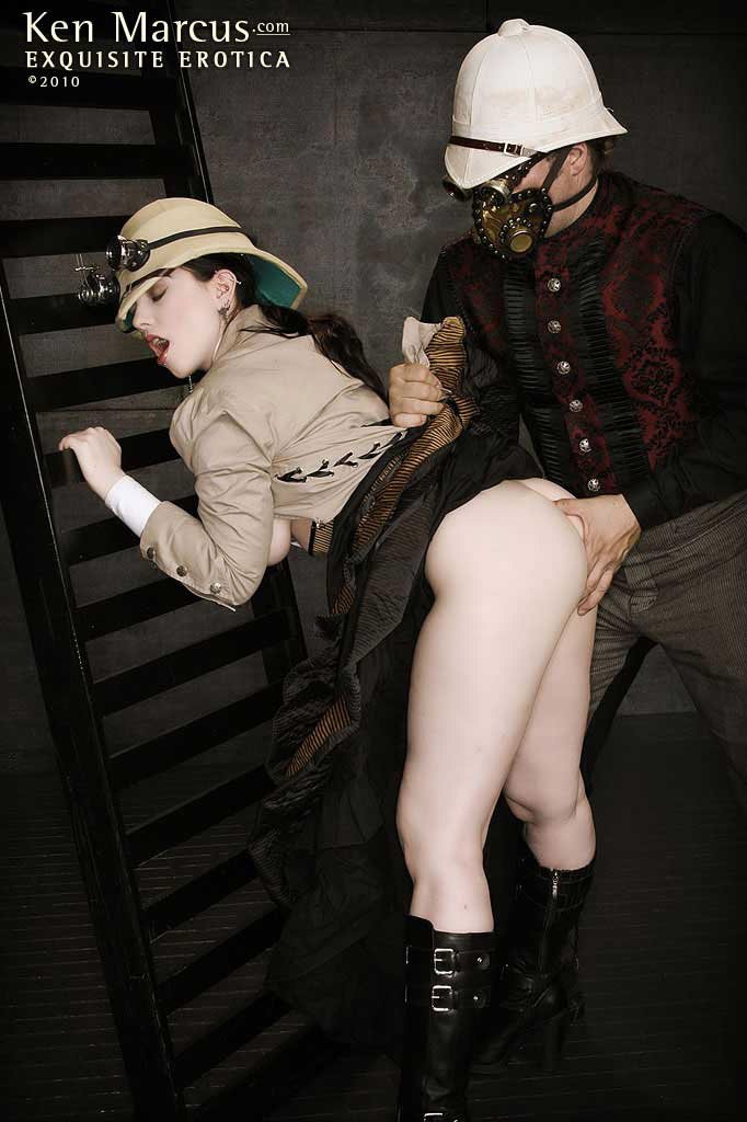 steampunk girl porn